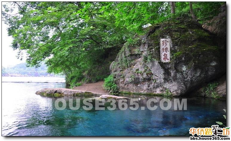 珍珠泉风景区,距浦口火车站及浦口轮渡7公里,168路公交车直达景区.