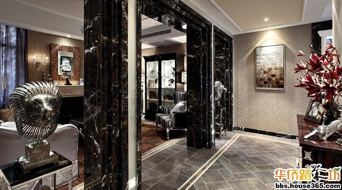 建筑420平米                庭院260平米 【风格】后现代新古典