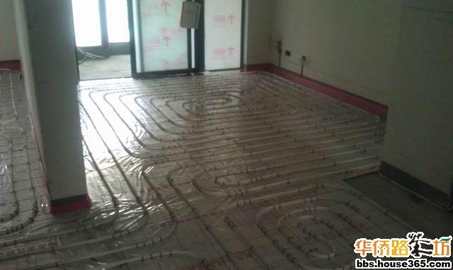 地热装修电路布线图