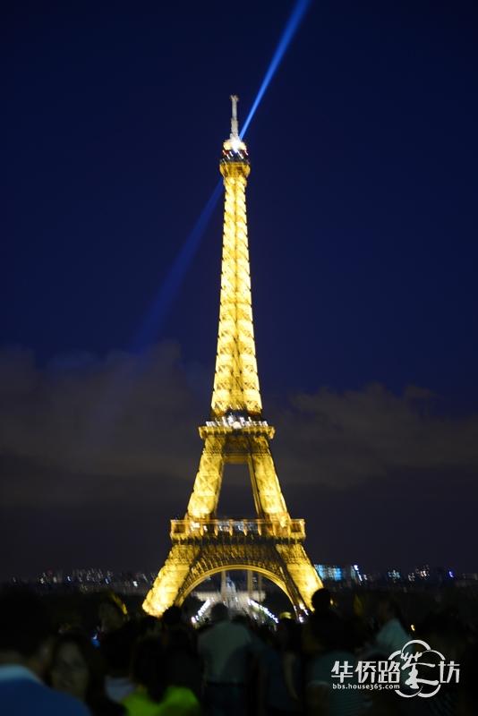 > 欧洲游之五--------------巴黎的标志:菲尔铁塔