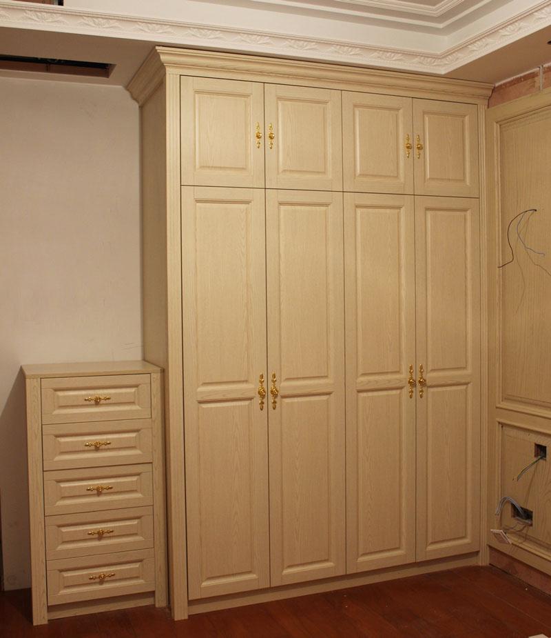 【卧室组合柜】欧式衣柜与五斗柜的结合