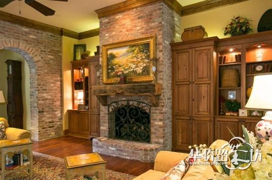 欧式田园别墅风格,优雅古典室内设计
