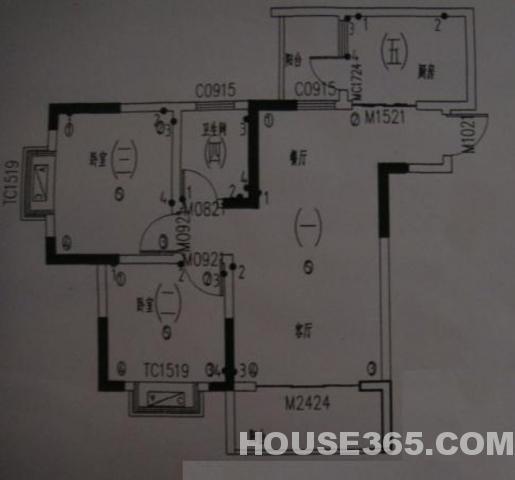 120型房子电路走线图