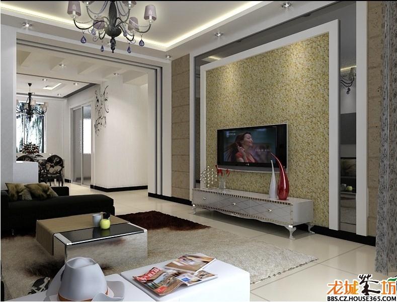 家装亮色壁纸效果图图片分享_效果图大全