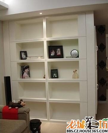 三房两厅装修效果图,装饰柜