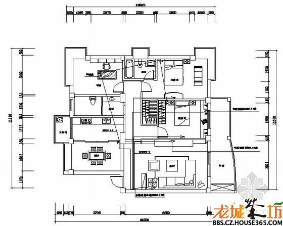家庭装修电路设计图