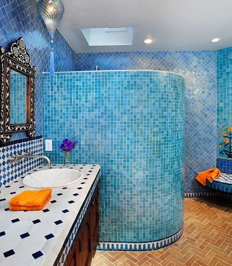 2013绚丽多彩的卫浴间设计