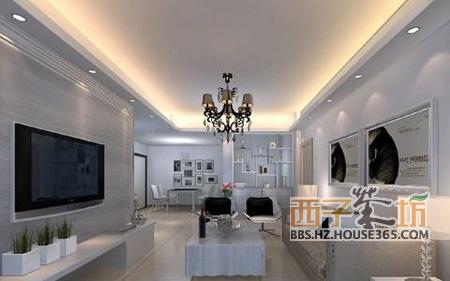 欧式风格的客厅吊顶   简单设计的家居客厅