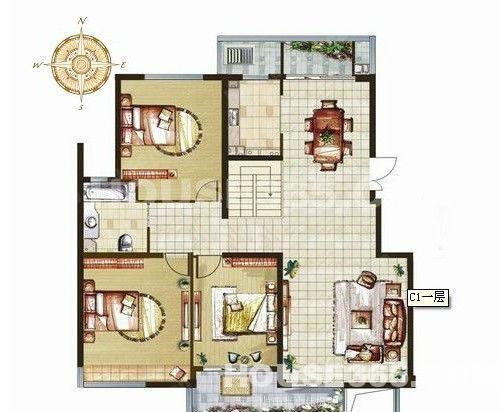 110方房屋设计图