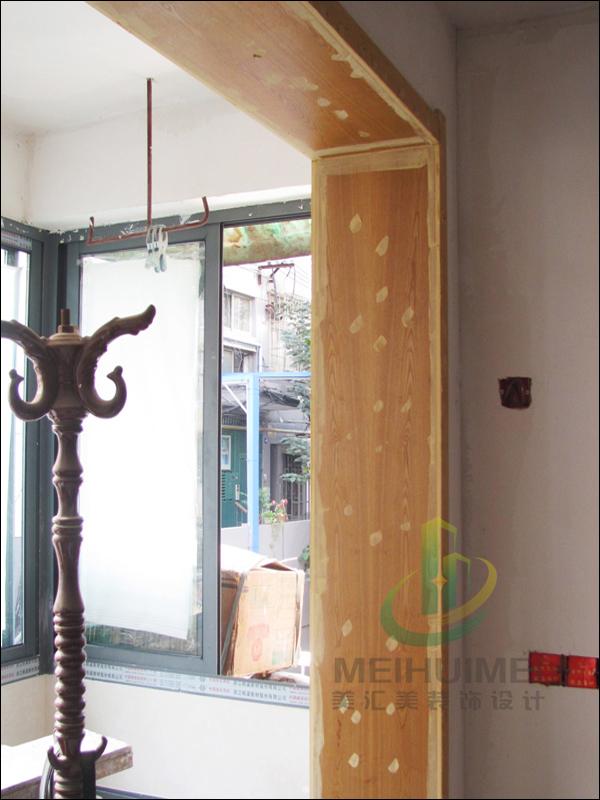 木工包的欧式窗套图片