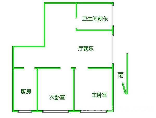 双和园小区承重墙结构图