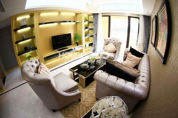 金浩仁和天地 85平样板房-客厅
