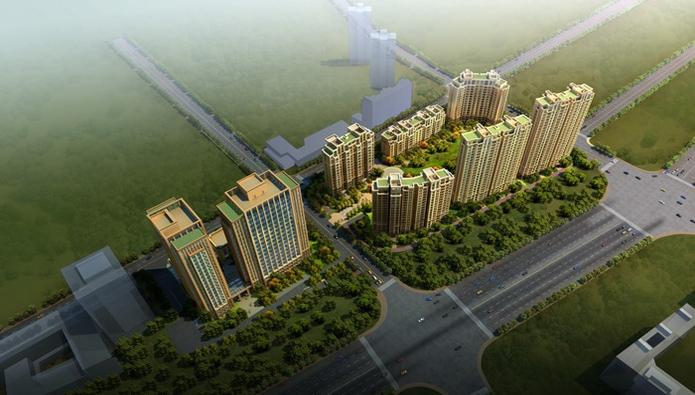金桂尚苑鸟瞰图