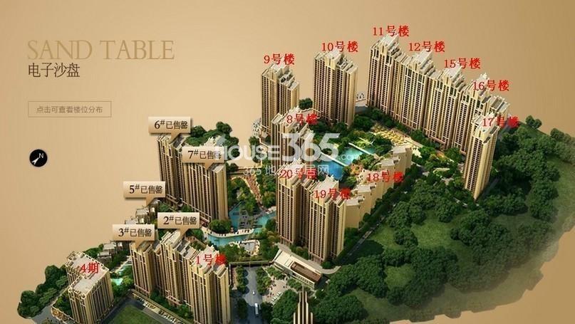 西安新房网 二环至三环 莱安逸珲 住宅 商业  本楼盘主要户型1#住宅