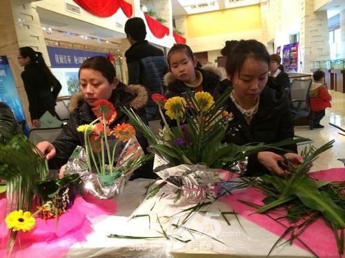 卓瑞3.8女人节插花活动