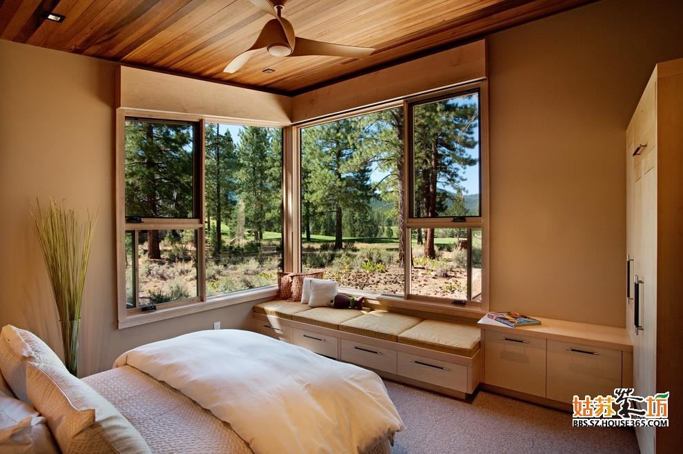 卧室飘窗装修设计图片