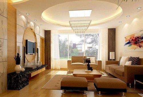 17平米客厅装修 时尚风格装修案例连连看(图)-365