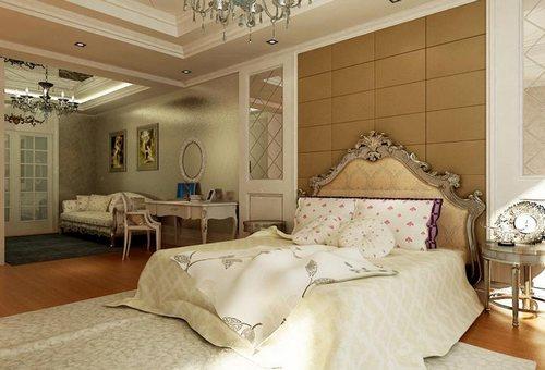 欧式卧室装修效果图 带你品味奢华家居空间