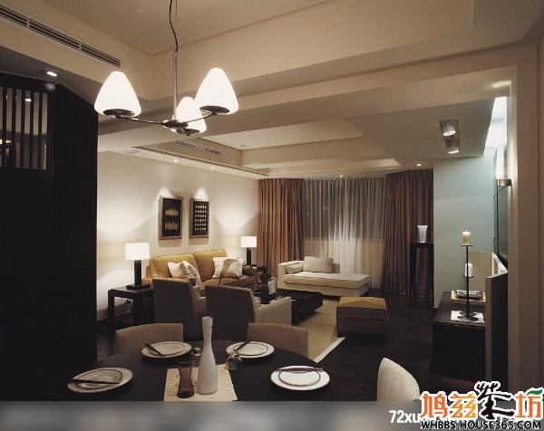 颜色较深色地板如何与家具搭配呢?