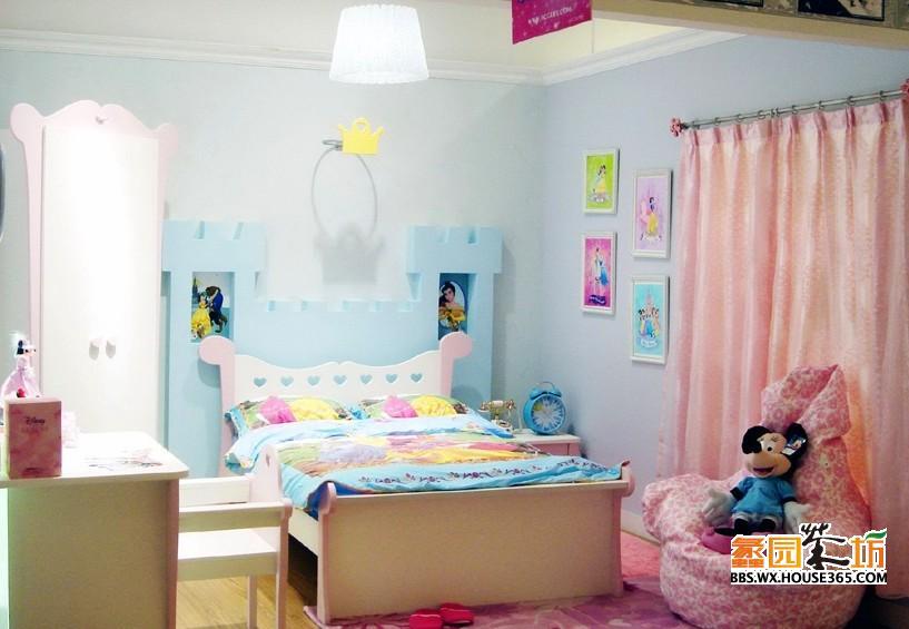 房间装修效果图 为宝宝创造个幸福的空间~   麦小曼 用户头衔:单室套