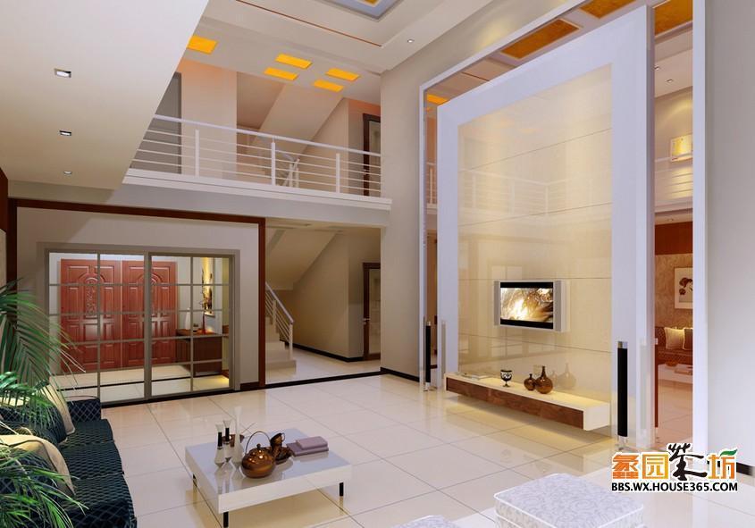 现代别墅装修效果图分享