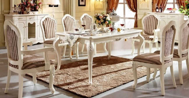 家居论坛 家装炫图 > 家用餐桌 各种风格style看进来   看了欧式风格