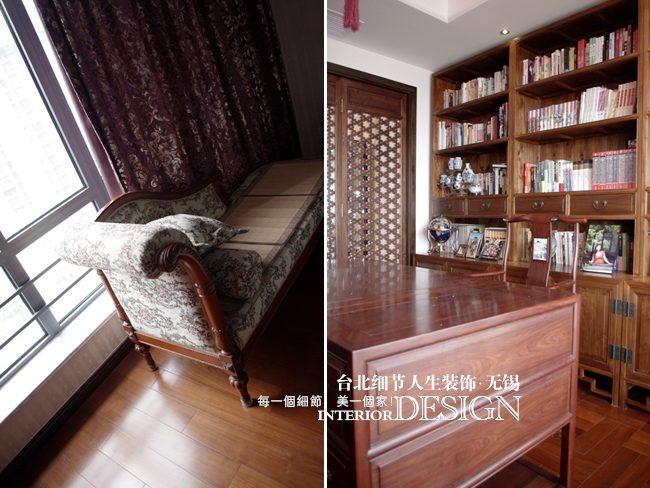 简约而古朴;传统的红木桌椅