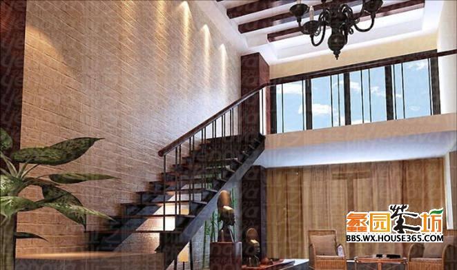 通常情况,跃层房屋是一套房屋占两个楼层,有内部楼梯联系上下层。一般在首层安排起居、厨房、餐厅、卫生间,最好有一间卧室;二层安排卧室、书房、卫生间等。 复式房屋在概念上是一层,但层高较普通的房屋(通常是2.7米)高,可在局部掏出夹层,安排卧室或书房等内容,用楼梯联系上下。其目的是在有限的空间里增加使用面积,提高房屋的空间利用率。这种做法是为适应其用地、空间极其缺乏的情况而产生的。 复式房屋实际上并不具备完整的两层空间,夹层在底层的投影面积只占底层面积的一部分。夹层可以做成房间,也可以做成跑马廊形式(夹层悬空