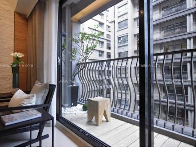 阳台门装修效果图 实用又美观的门窗你值得拥有