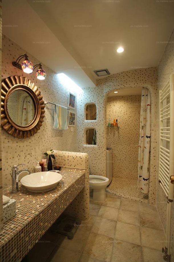 欧式卫生间效果图 都市白领奢华的沐浴享受