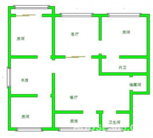 人民医院地铁口沁园新村电梯房精装修设施全3室2厅急租看房有钥匙