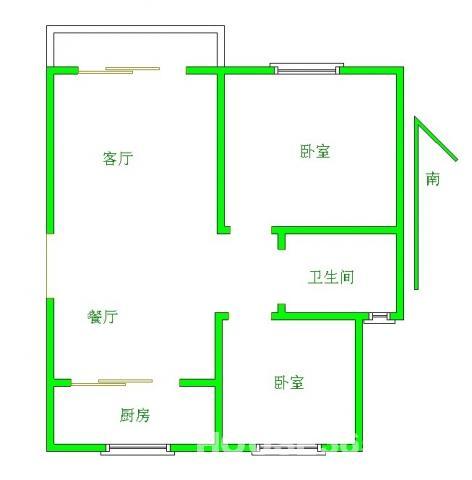 送小院,一楼北区房源南区价格低于市场价18万,天一学校