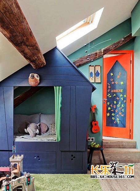 > 小型儿童房装修效果图欣赏,一起来看看吧